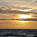 Takie zachody słońca tylko nad Bałtykiem